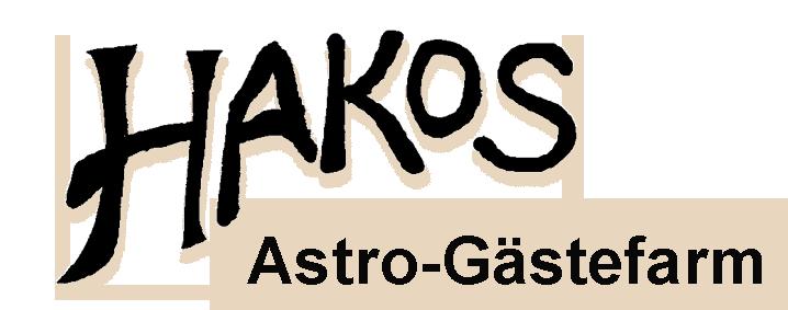 HAKOS Astro-Gästefarm