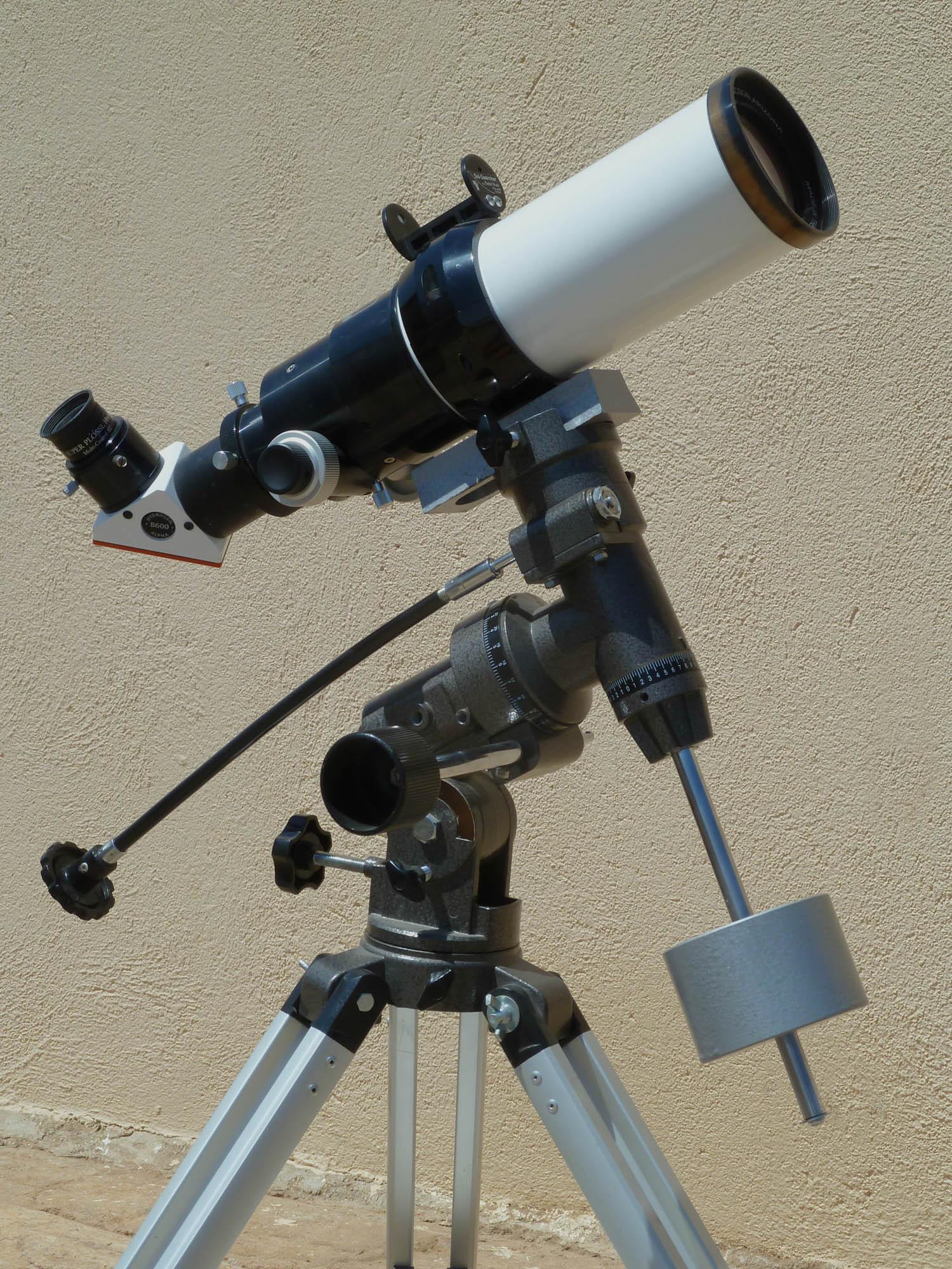 Lunt Sonnen-Teleskop