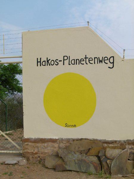 HakosPlanetWalk Planentenweg Sonne-Alt *