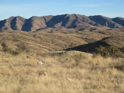 Blick auf Hakos-Berge